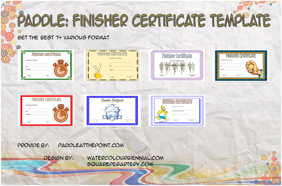 Download 7+ Best Ideas of Finisher Certificate Template free for fun run competition, marathon, running achievement, 5k with many formats!