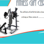 Fitness Gift Certificate Template 5