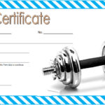 Fitness Gift Certificate Template 6