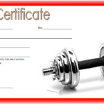 Fitness Gift Certificate Template 7
