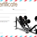 Fitness Gift Certificate Template 8