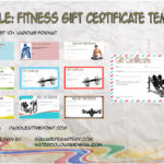 Fitness Gift Certificate Templates By Paddle