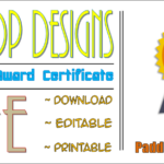 Free Certificate Of Recognition Template 2020 By Paddle