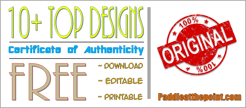 free printable certificate of authenticity template, certificate of authenticity template free, free certificate of authenticity template, sports memorabilia certificate of authenticity template