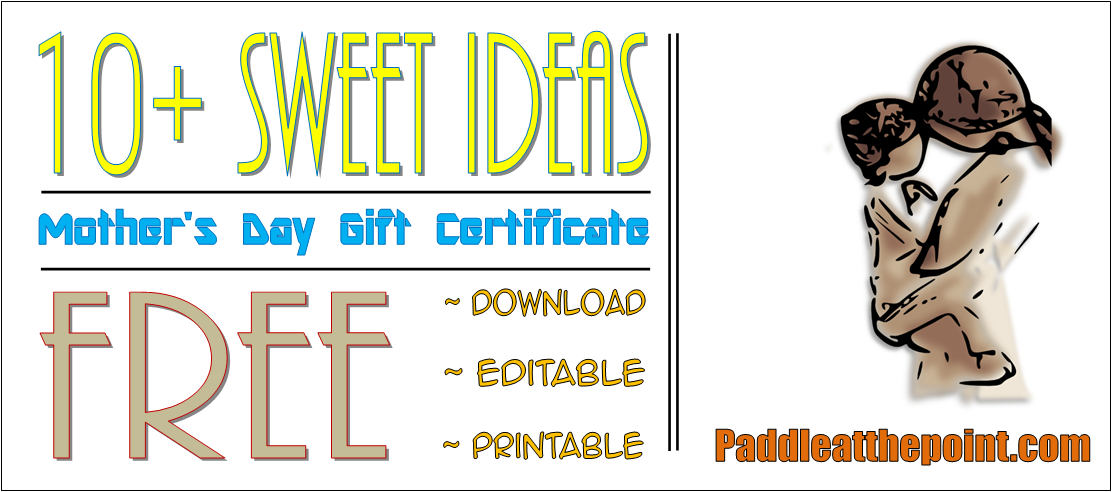 Gift Certificate For Mothers Day (FREE 10 Sweet Template Ideas) By Paddle