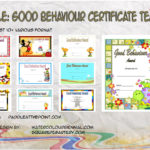 Good Behaviour Certificate Templates By Paddle