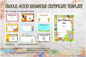 Good Behaviour Certificate Templates