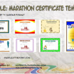 Marathon Certificate Templates By Paddle