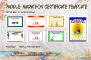Marathon Certificate Templates – 7+ Best Design Ideas