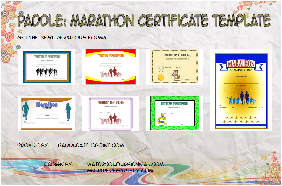 Get 7+ best ideas of Marathon Certificate Templates for finisher, running, participation, 5k, completion, race winner with pdf word formats.