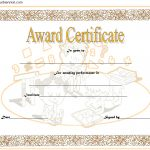 Math Award Certificate Template
