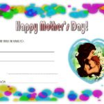 Mother's Day Gift Certificate Template 1