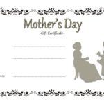 Mother's Day Gift Certificate Template 3