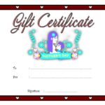 Mother's Day Gift Certificate Templates