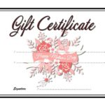 Mother's Day Gift Certificate Template 6