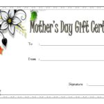 Mother's Day Gift Certificate Template 7