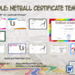Netball Certificate Templates By Paddle