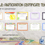 Participation Certificate Templates By Paddle