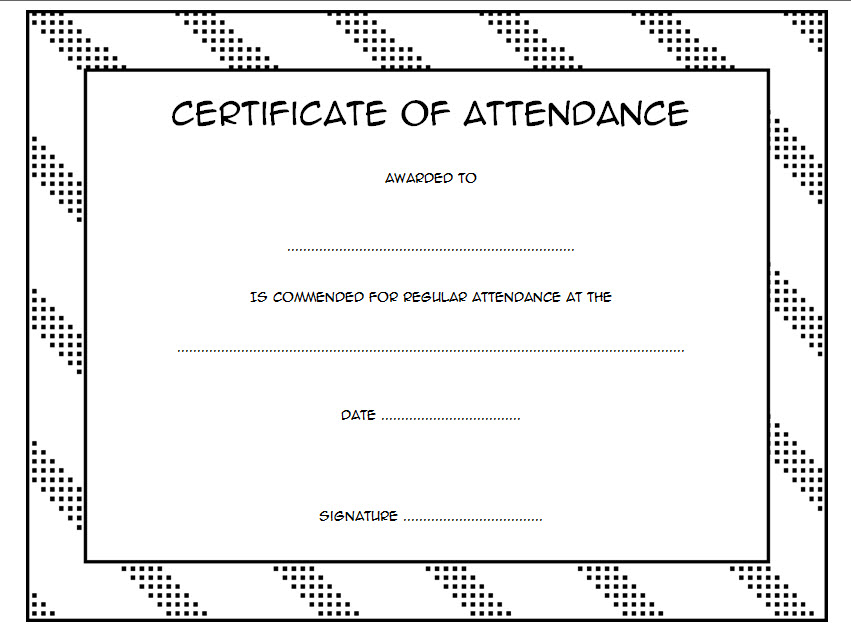 perfect attendance certificate template editable, perfect attendance certificate templates, attendance certificate format for students, free printable certificate of attendance template, elementary perfect attendance certificate template free, perfect attendance certificate for teachers, training certificate template, perfect attendance certificate fillable template, certificate of completion template, graduation certificate template, certificate of attendance template powerpoint, attendance certificates for schools, certificate of achievement template