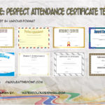 Perfect Attendance Certificate Templates Paddle