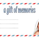 Photography Gift Certificate Template 1