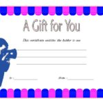 Photography Gift Certificate Template 3