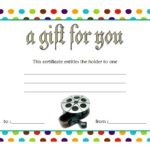 Photography Gift Certificate Template 4