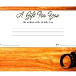 Photography Gift Certificate Template 5