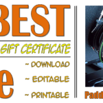 Photography Session Gift Certificate FREE Printable By Paddle