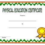 PE Certificate Templates – 8+ Best Ideas FREE DOWNLOAD