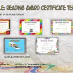 Reader Award Certificate Templates Paddle
