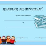 Reading Achievement Certificate Templates