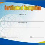 Recognition Certificate Editable 3