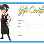 Restaurant Gift Certificate 2
