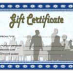 Restaurant Gift Certificate 4