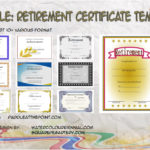 Retirement Certificate Templates By Paddle