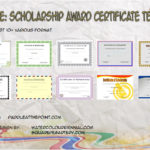 Scholarship Certificate Templates By Paddle