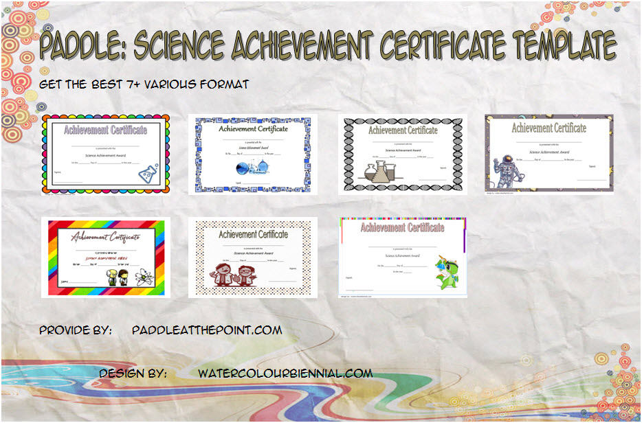 Get 7+ best ideas of Science Achievement Certificate Templates for students, 1st place, scientist of the month, olympiad with many formats!