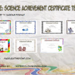 Science Achievement Certificate Templates