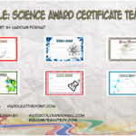 Science Award Certificate Templates By Paddle
