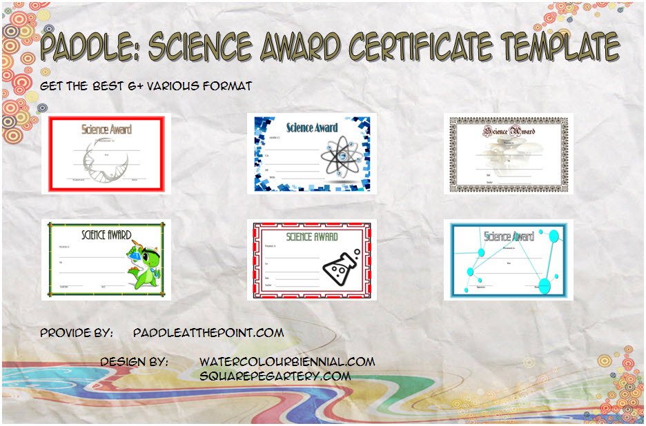Get 6+ best ideas of Science Award Certificate Templates for competition, school, stem, olympiad participation, achievement, students free!