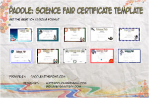 Science Fair Certificate Templates