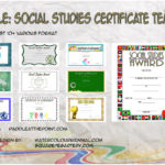 Social Studies Certificate Templates By Paddle