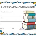Star Reading Award Certificate 1