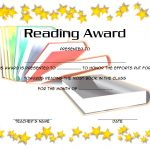 Star Reading Award Certificate 3