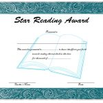 Star Reading Award Certificate 4
