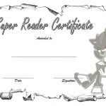 Super Reader Certificate Template 5