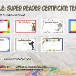 Super Reader Certificate Templates Paddle