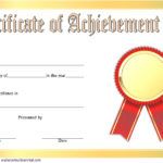Academic Achievement Certificate Template 9