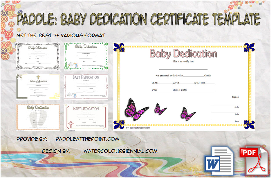 Get 7+ Best Ideas of Baby Dedication Certificate Templates for godparents, custom, lifeway, request form, card, invitation, fillable, printable free download!
